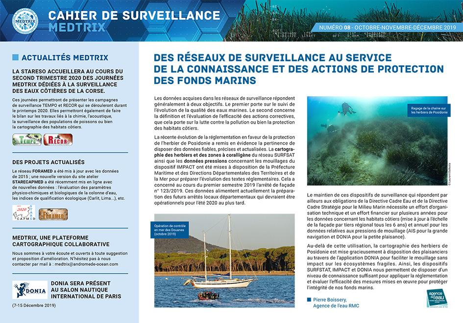 Cahier de surveillance N°8