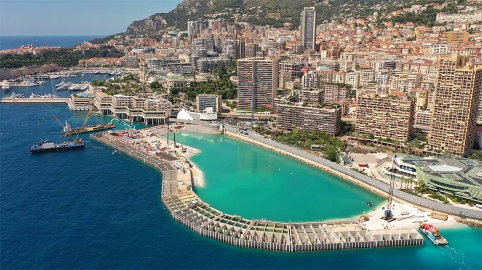 Monaco, l'extension de tous les défis