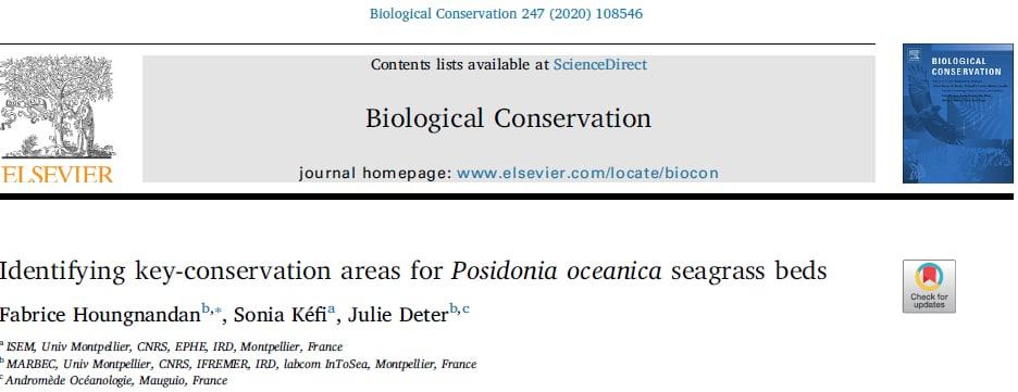 Identifier des zones-clefs de conservation pour la posidonie