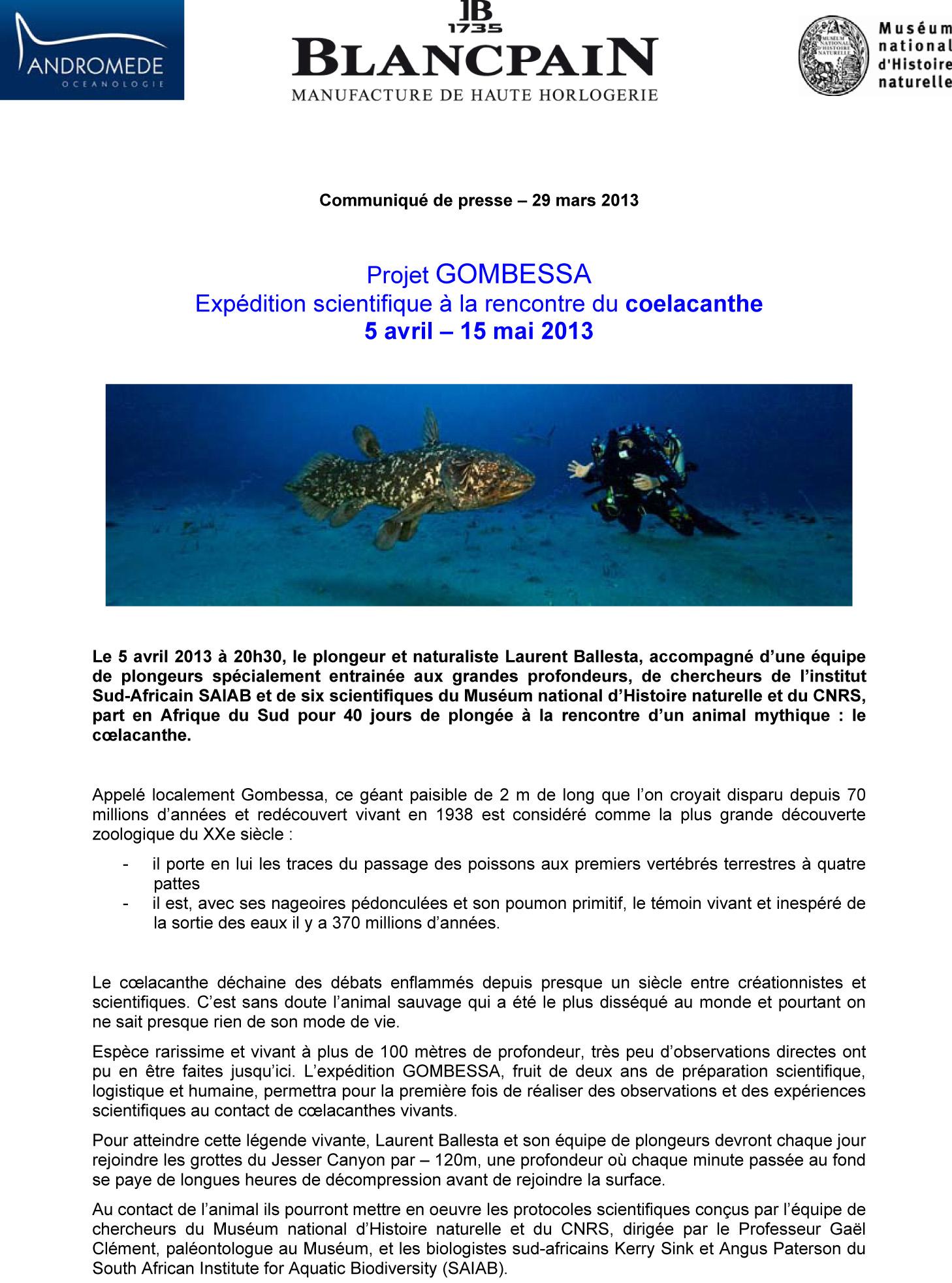 Microsoft Word - com presse GOMBESSA _2_-1.doc