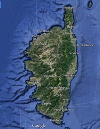 corse-googlemap